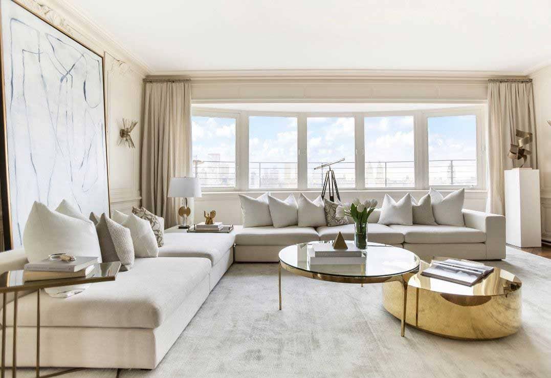 Thiết Kế Nội Thất Biệt Thự Liền Kề Sao Biển Phong Cách Luxury