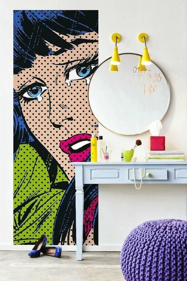 Ứng Dụng Phong Cách Thiết Kế Pop Art Vào Nội Thất Nhà Ở